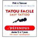 TATOO DEFENDUS