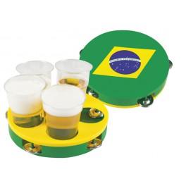 Tambourin porte verres Brésil
