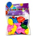BALLON 25 COULEURS ASSORTIES EN SACHET