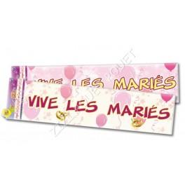 BANNIERE VIVE LES MARIES