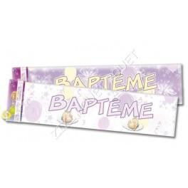 BANNIERE BAPTEME