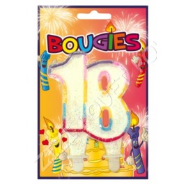 BOUGIE 18 ANS