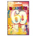 BOUGIE 60 ANS
