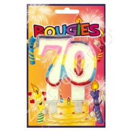 BOUGIE 70 ANS