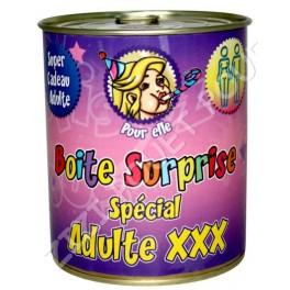 BOITE SURPRISE ADULTE X FEMME
