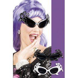 Lunettes lady strass
