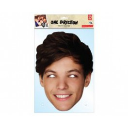 "Masque carton ""one direction"" Louis Tomlison"