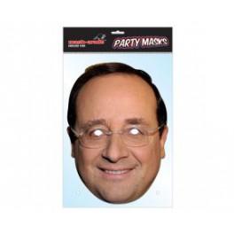 Masque carton François Hollande